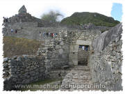 Machu Picchu, Peru - Old City Gate