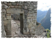 Photos of Machu Picchu: Old City Gate