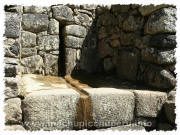Photos of Machu Picchu: Fountains
